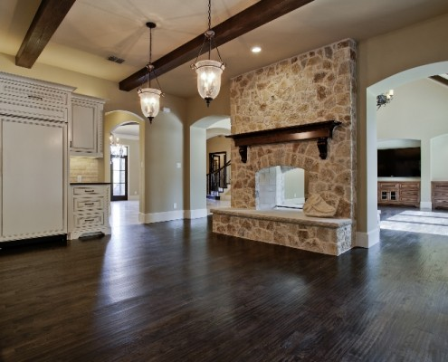 Fireplace Scenic Sterling Brook Custom Homes