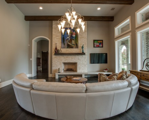 Living Room Lusk Sterling Brook Custom Homes