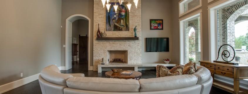 Living Room Lusk Sterling Brook Custom Homes