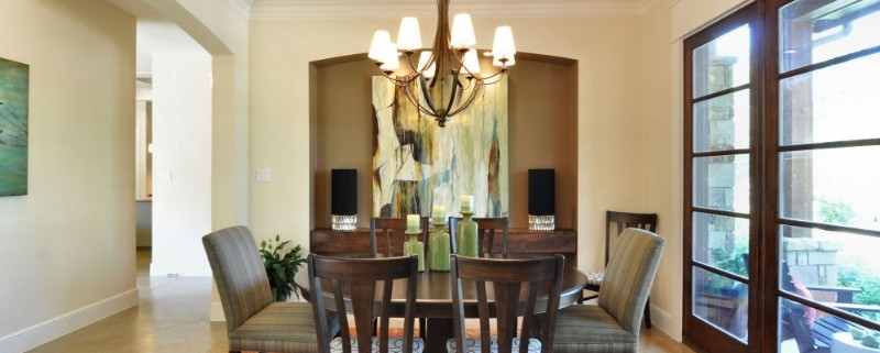 North Falls Formal Dining Area Sterling Brook Custom Homes