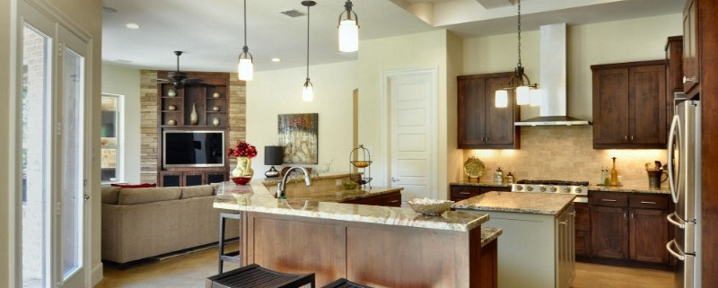 North Falls Full Kitchen Sterling Brook Custom Homes