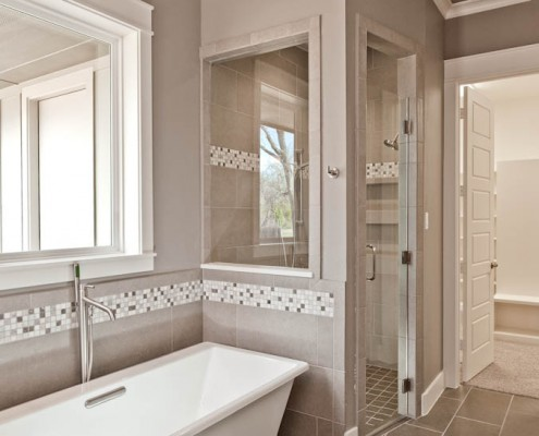 Master Bathrooom Post Oak Sterling Brook Custom Homes