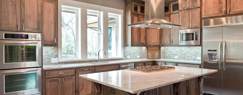 Kitchen Post Oak Sterling Brook Custom Homes
