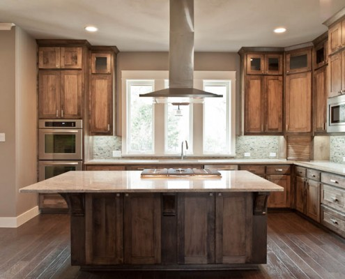 Kitchen Space Post Oak Sterling Brook Custom Homes