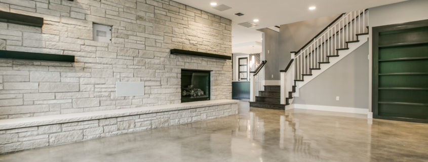Great Room Modern Design Sterling Brook Custom Homes