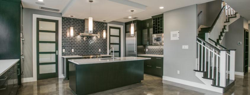 Contemporary Kitchen Design Sterling Brook Custom Homes