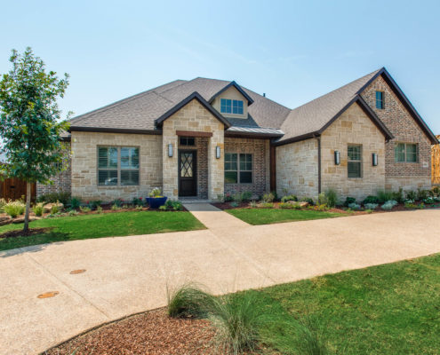 Highland Oaks with Elevation Sterling Brook Custom Homes