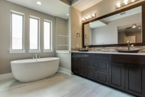 Highland Oaks W Master Bathroom Sterling Brook Custom Homes