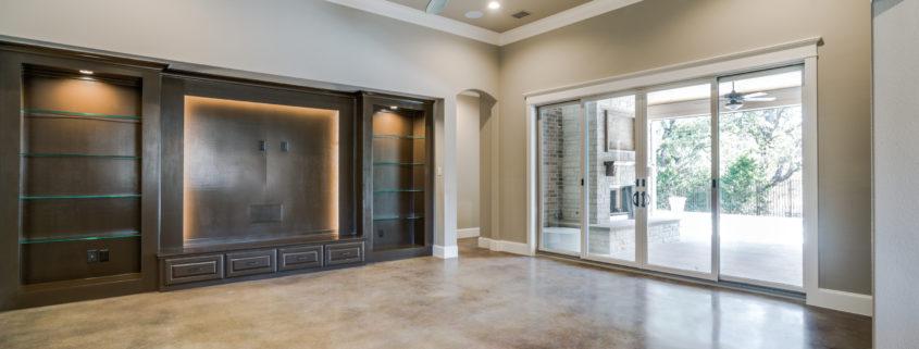 Modern Style Living Room Sterling Brook Custom Homes