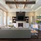 Village Park Greatroom with LIghts Sterling Brook Custom Homes